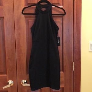 Black Lulus cocktail dress